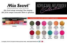 NEW! Mia Secret Nail Art Acrylic Professional Powder 12 Color Set - INSPIRATION