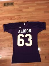 Albion Britons NCAA Russell Athletic Game Used Football Jersey Men's Size XXL