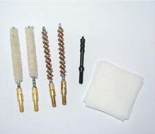 .17 Fucile calibro .17HMR 55pc Kit di Pulizia della Canna del Fucile Bore Spazzole Patch Jag