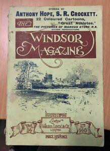 Windsor Magazine August 1906 Spy cartoons