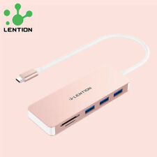 USB-C to USB 3.0 Hub Adapter SD Card Reader For 2020 MacBook Air Pro 16 Samsung