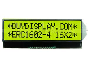 Slim 3.3V Serial I2C 16x2 COG Character LCD Module w/Tutorial,Metal Pins Conn