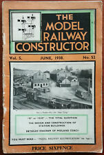 The Model Railway Constructor Vol. 5, No. 52, June 1938