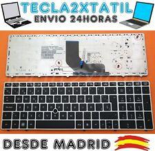 TECLADO PARA PORTATIL HP EliteBook 8560P Series ESPAÑOL POINT STCK MARCO PLATA