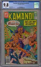 Kamandi #54 CGC 9.8 NM/MT Wp DC 1978 The Last Boy on Earth! ULTRA RARE GRADE!!