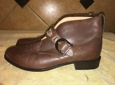 NWOB Ariat Brown Leather Ankle Boots Sz 8.5 B