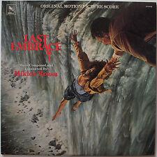 OST vinyl LP record - The Last Embrace / Lydia - Miklos Rozsa