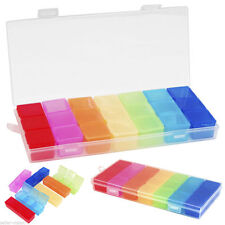 NEU Seven Days 7 Tage Pillenbox Tablettenbox Pillendose Pillenbox