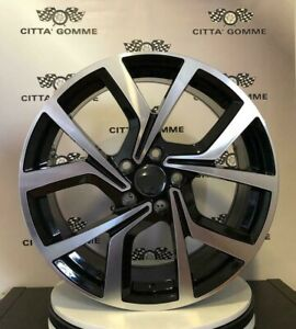 "4 Cerchi in lega compatibili Volkswagen Golf 5 6 7 Passat Tiguan T-roc 18"" NEW:"