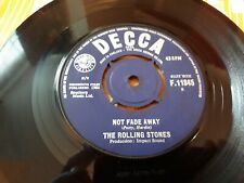 "The Rolling Stones,""Not Fade Away"",1964 UK 7"" Single.EX"