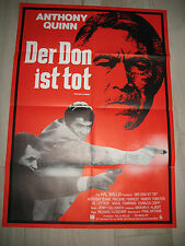 Le Don est mort kinoplakat a1 Don is Dead Anthony Quinn Frederic Forrest Rob
