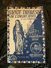 Partitur Heilige Theresa von mit Kind Madonna Jesuskind Film - Confession Rudy