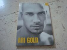 ARI GOLD MEGARARE oop rare POSTCARD BOOK gay interest nude male photography