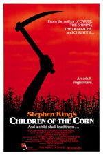 stephen KING'S children OF THE CORN movie poster linda HAMILTON horror 24X36