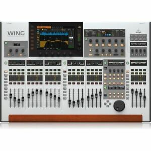 Behringer WING 48 Ch, 28 Bus Full Stereo Digital Mixing Console with 24 Faders