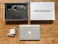 MacBook Air: 13-inch, 8GB RAM, 256GB SSD, 1.3 GHz Intel Dual-Core i5