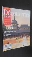 Revista Semanal Dibujada Descubrimientos Junior N º 27 Gallimard Buen Estado