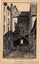 CPA Blois-La Cour des Miracles Rue du Puits Chátel (189558)