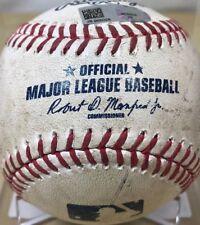 JOSE MARTINEZ 10th CAREER HIT GAME-USED MLB BASEBALL ST LOUIS CARDINALS 4/11/17