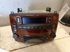 Audio Equipment Radio Am-fm-cd-stereo Opt U2R ID 15144091 Fits 04-05 CTS 439564