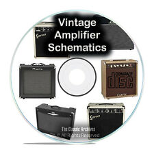 792 Vintage Amplifier Schematics, Fender, Fisher, Marshall Peavey Vox CD PDF G83