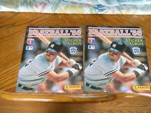 1988 Panini Baseball Sticker Album Don Mattingly (2). No Stickers with LL flier