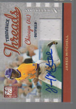 JARED MITCHELL 2009 DONRUSS ELITE THROWBACK THREADS AUTO  #TT-JM  /149