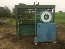 Farm livestock weighing scales weigh crate pen cattle sheep heavy duty