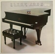Elton John Here And There LP UK 1976 funda interior a color