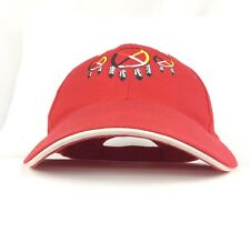 Native American Embroidered Dream Catcher Feathers Logo Red Baseball Cap Hat Adj