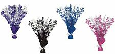 30th Birthday Party Foil Table Cascade Centrepiece Decoration Assorted Colours