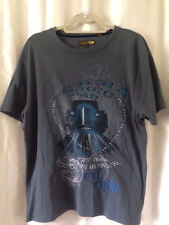 Men's Ted Baker London Short Sleeve Graphic Slate Blue Tshirt  Size 4/US Large