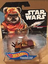 Star Wars WICKET -- Hot Wheels Characters Cars Mint On Card