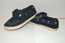 Polo Ralph Lauren Toddler Boy 7 Top Deck EZ Shoes Loafer Blue Canvas Top Siders