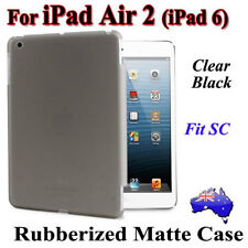 Premium Frosted Clear Matte Thin Case Cover For iPad Air 2(iPad 6)(Fits SC Skin)