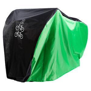 190T Nylon Heavy Duty for 2 Mountain Road Bikes Waterproof Dust Rain Cover Case