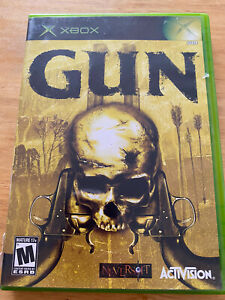 Gun (XBOX- 2005)- With Manual