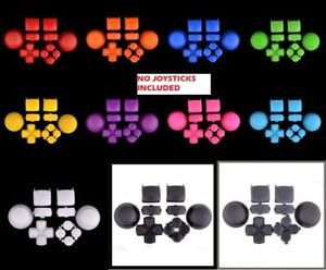 Repair button sets for SONY ps3 game controller mod kits action dpad L1L2R1R2