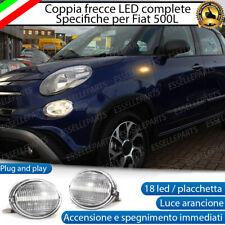 PLACCHETTE A LED FRECCE LATERALI 18 LED SPECIFICHE FIAT 500L 500 L CANBUS