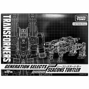 TAKARA TOMY TRANSFORMERS GENERATIONS SELECTS TT-GS03 SEACONS TURTLER (SNAPTRAP)