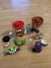Playskool Disney Pixar Toy Story Mr & Mrs Potato Head Lot