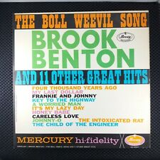 Brook Benton – The Boll Weevil Song And 11 Other Great Hits (Mercury Mg 20641)