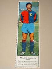 *+ FRANCO GALLINA GENOA=FIGURINA=1966/67=ALBUM FIGURINE CALCIATORI TEMPO
