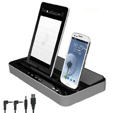 Multi-Function Docking Station Charger Speaker For iPhone Samsung Phone iPad..