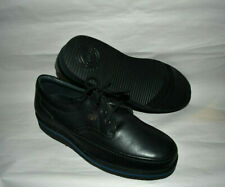 Hush Puppies Mall Walker Black Leather Oxford Shoes 11W