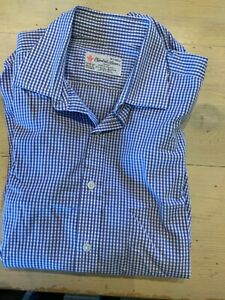 Turnbull & Asser button cuff Shirt 16.5 inch 42cm used good condition
