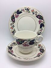 Pretty Vintage Grindley Trio. Standard Tea Cup, Saucer & Side Plate.
