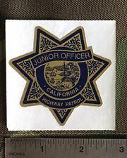 California Highway Patrol, Junior Officer Sticker