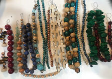 Lot Of Mixed Variety Beads For Jewelry Design Pre-strung