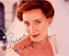 EMMA THOMPSON AUTOGRAPHED SIGNED 8X10 PHOTO WEDDING DRESS WITH COA